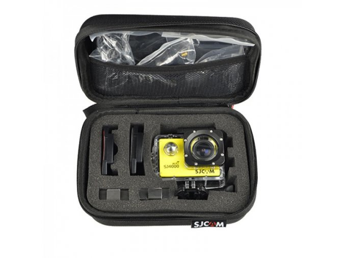 Malé Ochranné pouzdro 17 x12 x7cm  pro sportovní kamery např. gopro nebo sjcam