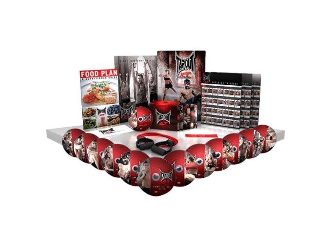 TapouT XT Specialní XT kompletní serie s workoutem na nohy - 12 DVD a 1 Bonusové DVD
