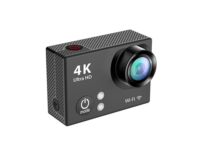 EKEN H2R Ultra HD 4K- 25fps - Černá Sportovní kamera s ČESKÝM MENU  , ZDARMA GARANCE VYŘEŠENÍ REKLAMACE DO 24 HODIN