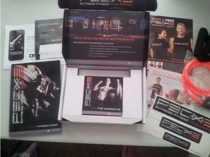 P90X3: Trénink pro kondici fitnessove DVD nejnovější