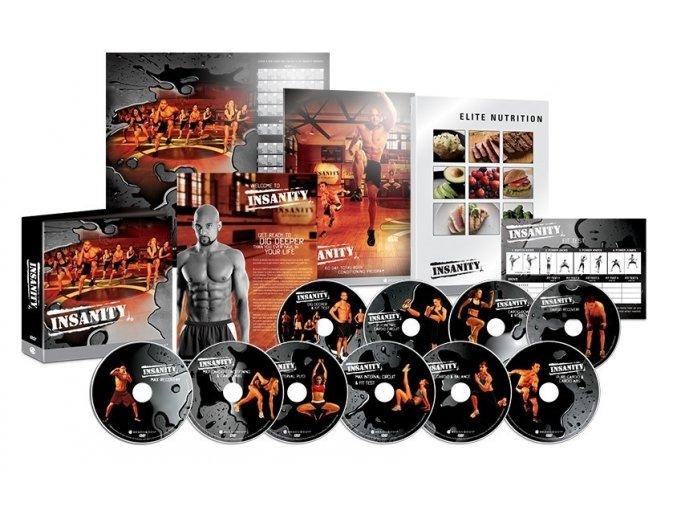 profesionální set 13 dvd insanity všechny partie!