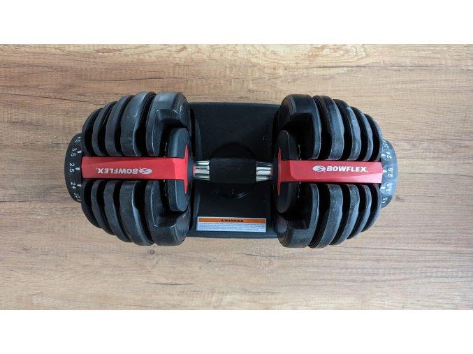 Set dvou nakládacích jednoručních činek BOWFLEX select TECH 552 2,5-24 kg