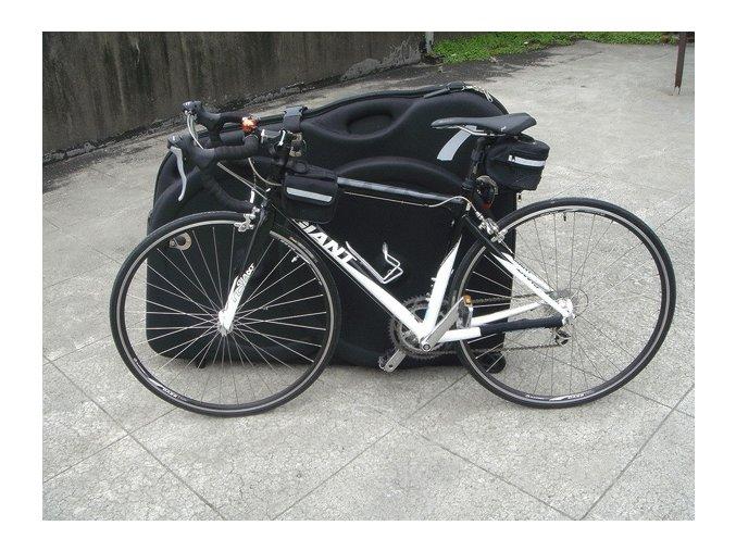 Obal - Kufr na kolo vyztužený eva pěnou