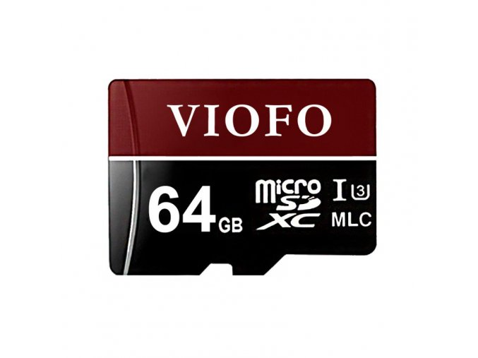 viofo 64gb professional high endurance mlc micro sdxc memory card uhs 3 with adapter for dash cam action camera