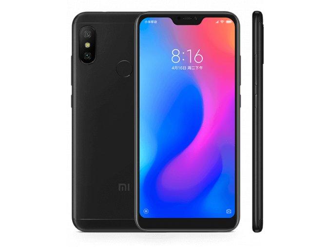 Mobilní telefon - Xiaomi Redmi Note 6 Pro 64GB Dual-SIM EU černá GLOBAL verze  + Silikonový obal zdarma v balení