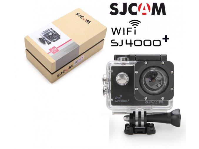Sportovní kamera SJCAM™ SJ4000 PLUS CZ MENU  , ZDARMA GARANCE VYŘEŠENÍ REKLAMACE DO 24 HODIN