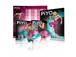 Chalene Johnson PiYo Základní Kit - DVD se cviky + nutriční plán