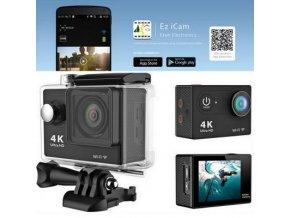 EKEN H9R Ultra HD 4K Sportovní kamera s ČESKÝM MENU a dálkovým ovladačem