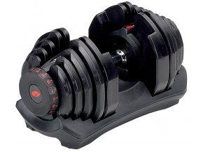Jedna nakládací jednoruční činka BOWFLEX select TECH 1090 4,5-40 kg