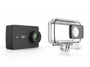 xiaomi yi 4k plus action camera cerna vodeodolny kryt i269940
