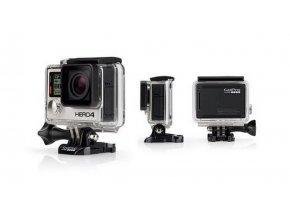 GoPro HERO4 Black edition kamera, 4K, 2x větší výkon, BT, WiFi, stříbrno-černá, 12Mpix