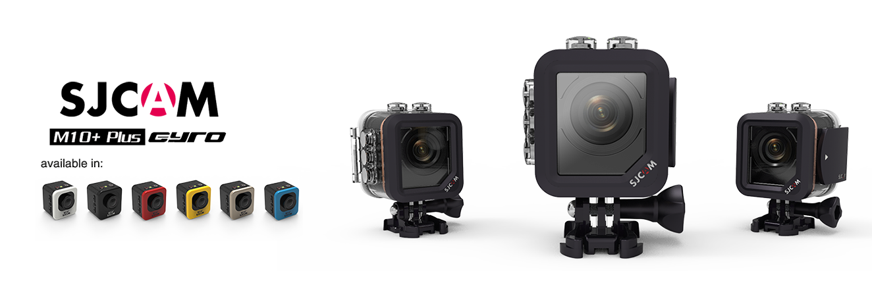 SJCAM M10 Plus sportovní kamera černá CZ menu Barva: Červená