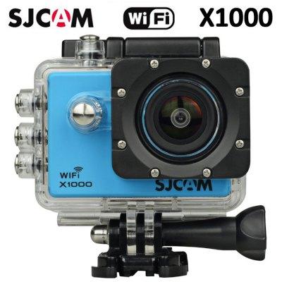 SJCAM X1000 WIFI 2.0´´LCD H.264 CZ MENU SPORTOVNÍ KAMERA Barva: Bílá