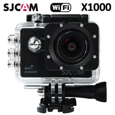 SJCAM X1000 WIFI 2.0´´LCD H.264 CZ MENU SPORTOVNÍ KAMERA Barva: Černá