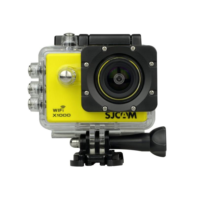 SJCAM X1000 WIFI 2.0´´LCD H.264 CZ MENU SPORTOVNÍ KAMERA Barva: Žlutá