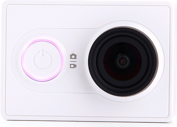 Sportovní kamera Xiaomi™ Yi TRAVEL EDITION(Xiaomi™ Yi, se záznamem 1080P Full HD) , s dálkovým ovladačem Barva: Bílá