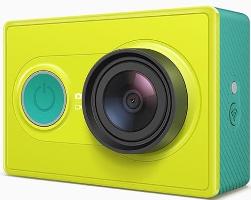 Sportovní kamera Xiaomi™ Yi TRAVEL EDITION(Xiaomi™ Yi, se záznamem 1080P Full HD) , s dálkovým ovladačem Barva: Zelená