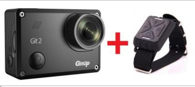 Sportovní kamera GitUp™ GIT2 Oficiální distribuce! varianty: Černá, Dálkový ovladač