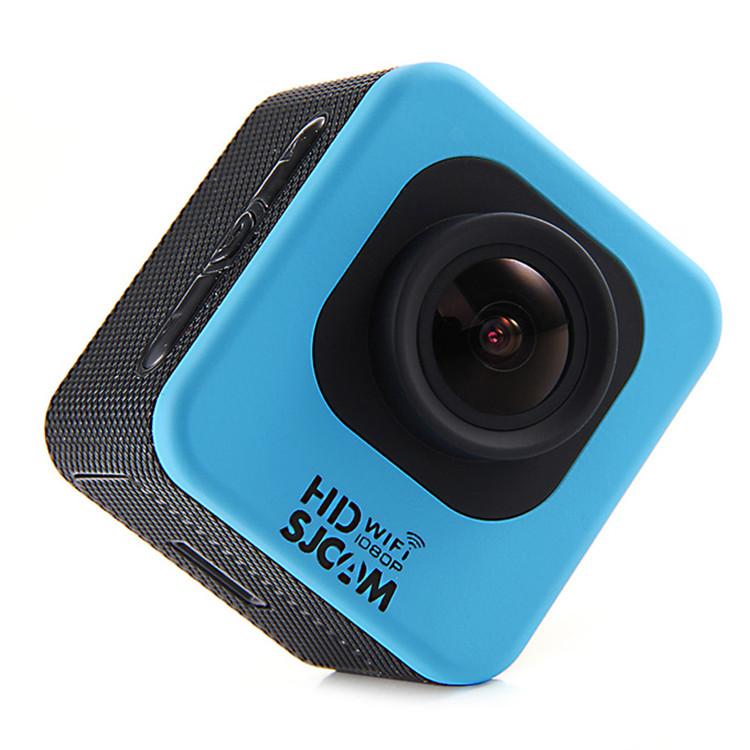 SJCAM M10 WIFI sportovní kamera černá CZ menu + Velká tlačítka na vodotěsném obalu Barva: Modrá