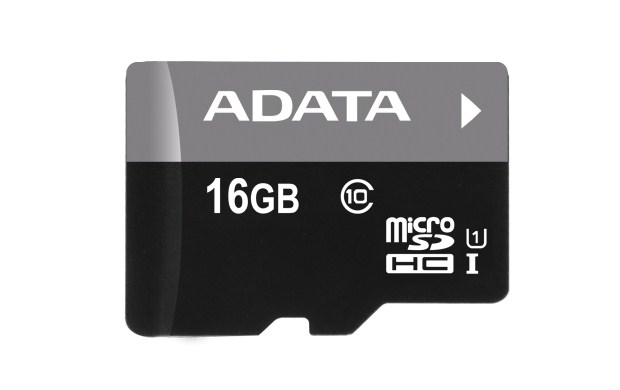 ADATA Micro SDHC karta 16GB UHS-I Class 10 + SD adaptér