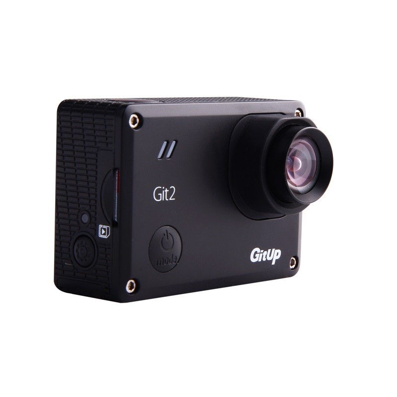 Sportovní kamera GitUp™ GIT2 s F2.8 4.35mm 16M, FOV 90° , 13G čočky , ZDARMA 3 Roky záruka varianty: Kamera