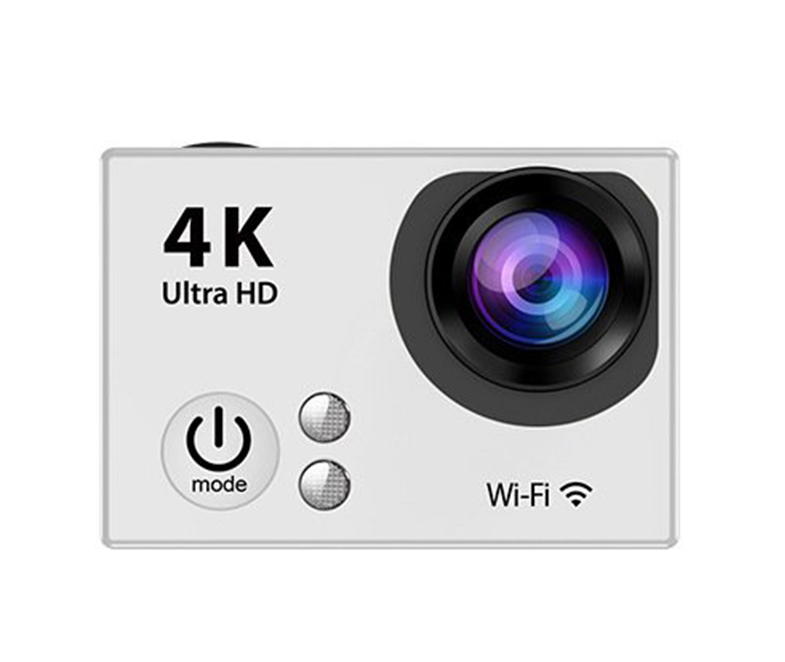 EKEN H9 Plus HD 4K Sportovní kamera s ČESKÝM MENU Barva: Stříbrná