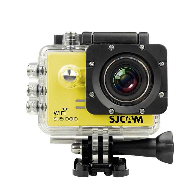 SJCAM SJ5000 WiFi CZ MENU ! Barva: Žlutá