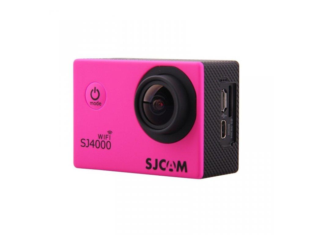 SJCAM SJ4000 WiFi CZ MENU Barva: Růžová