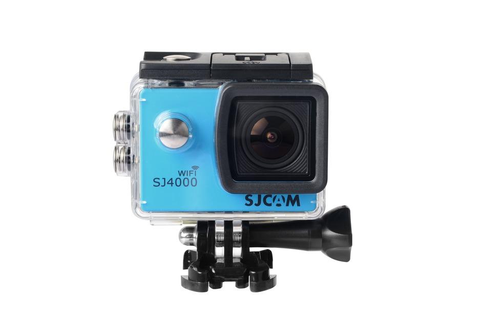 SJCAM SJ4000 WiFi CZ MENU Barva: Modrá