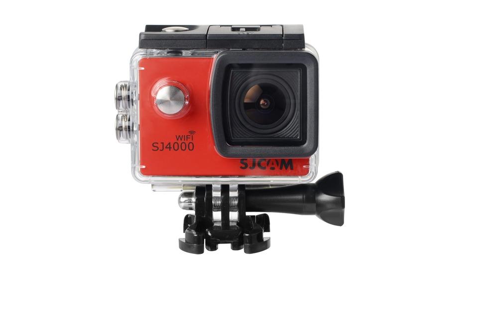 SJCAM SJ4000 WiFi CZ MENU Barva: Červená