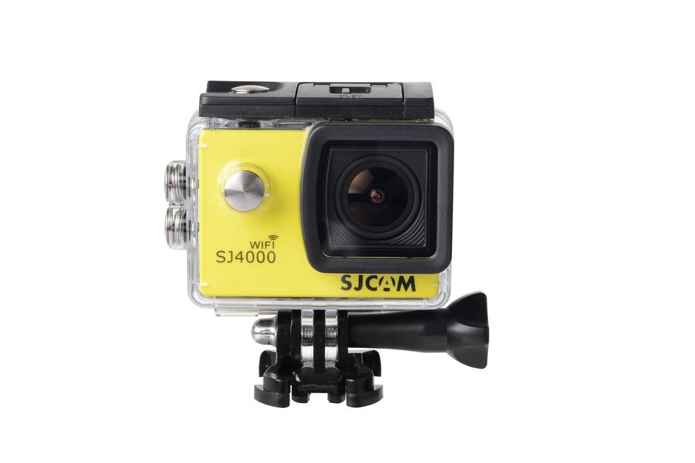 SJCAM SJ4000 WiFi CZ MENU Barva: Žlutá