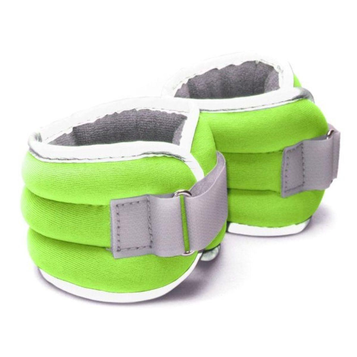 Závaží na zápěstí nebo závaží na kotníky Váha: 1 kg