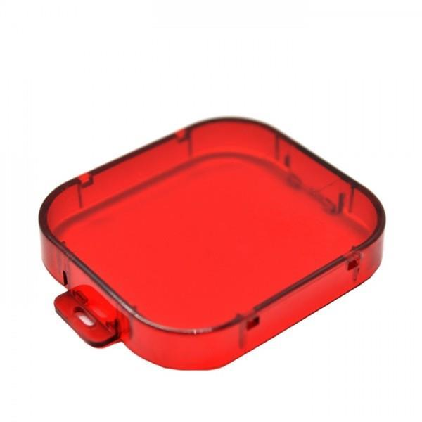 Červený podvodní filtr SJCAM™ - pro Gitup, SJ4000, gopro hero 3