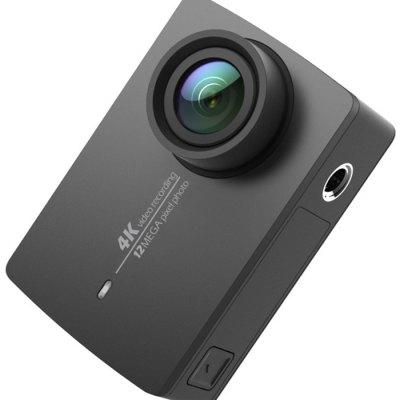 Xiaomi Yi 4K action Camera Xiaomi Yi 2 Aktuální Firmware s anglickým menu Barva: Černá