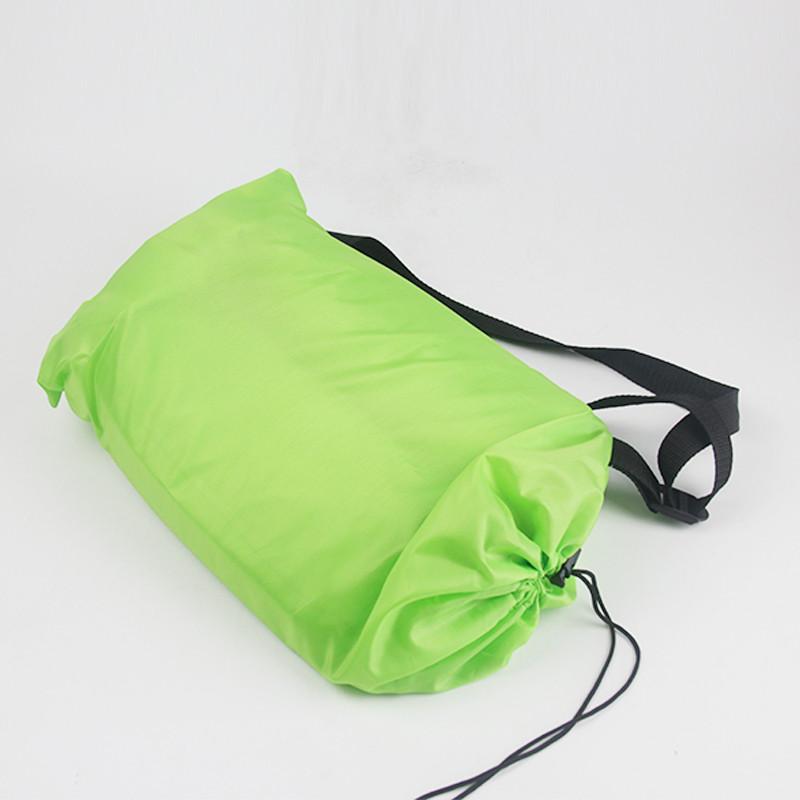 Nafukovací sedací vak Barva: Zelená