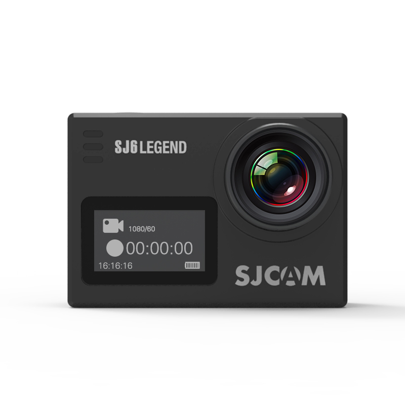 Originalní SJCAM SJ6 LEGEND Sportovní kamera CZ MENU, ZDARMA GARANCE VYŘEŠENÍ REKLAMACE DO 24 HODIN Barva: Černá