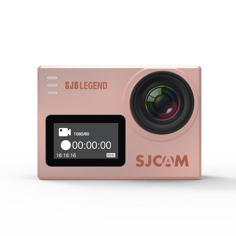 Originalní SJCAM SJ6 LEGEND Sportovní kamera SPECÍÁLNÍ AKCE DO KONCE TÝDNE - CZ MENU + ZDARMA GARANCE VYŘEŠENÍ REKLAMACE DO 24 HODIN Barva: Růžová