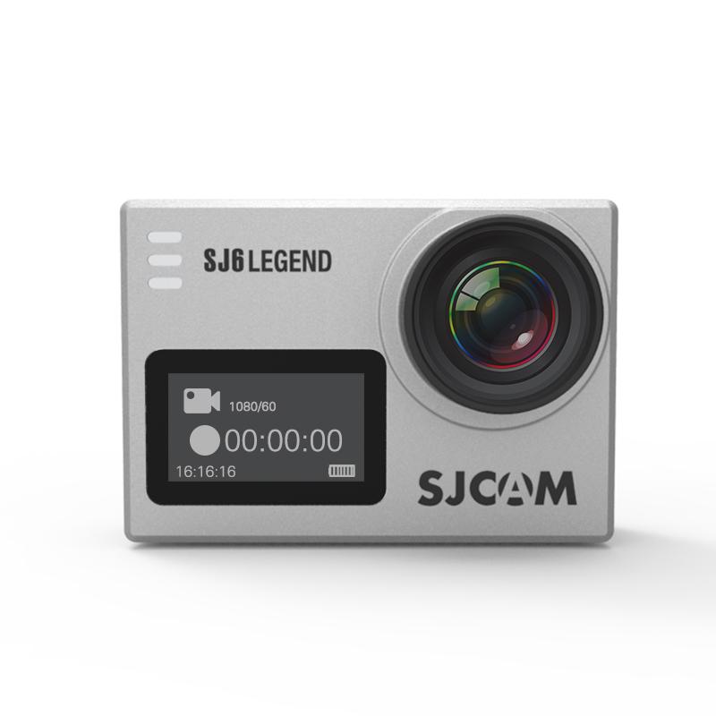 Originalní SJCAM SJ6 LEGEND Sportovní kamera CZ MENU, ZDARMA GARANCE VYŘEŠENÍ REKLAMACE DO 24 HODIN Barva: Stříbrná