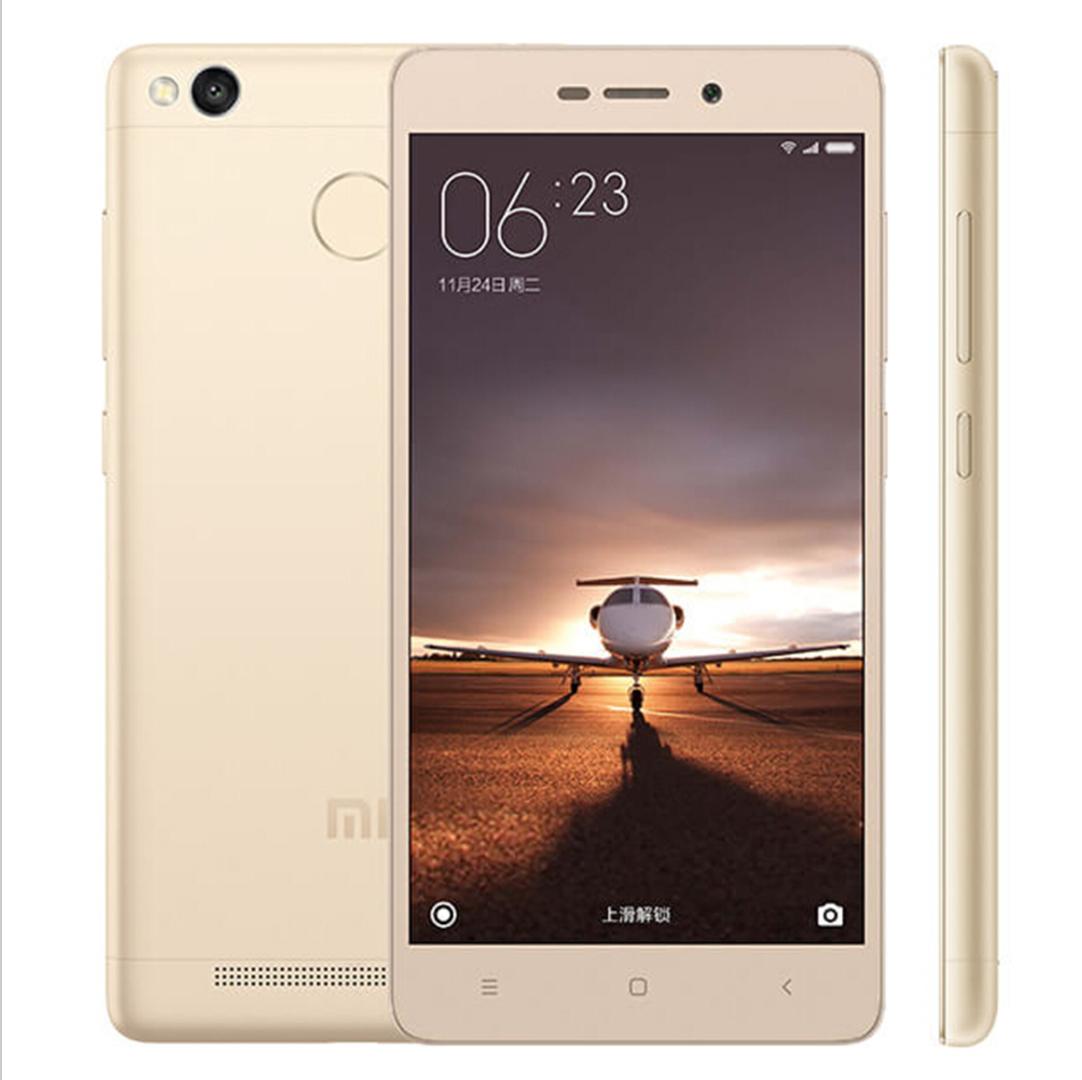 Xiaomi Redmi 3S 2GB/16GB Global -CZ MENU, b20 Global Zlatá - Podporuje CZ LTE na 800 Mhz + 900 Mhz s CZ MENU