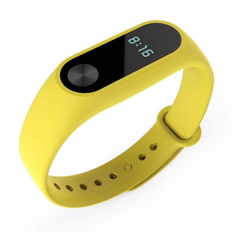 TPU náramek pro Xiaomi Mi Band 2 Barva: Žlutá