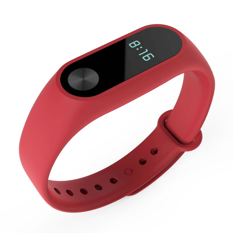 TPU náramek pro Xiaomi Mi Band 2 Barva: Červená