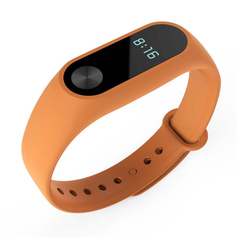 TPU náramek pro Xiaomi Mi Band 2 Barva: Oranžová