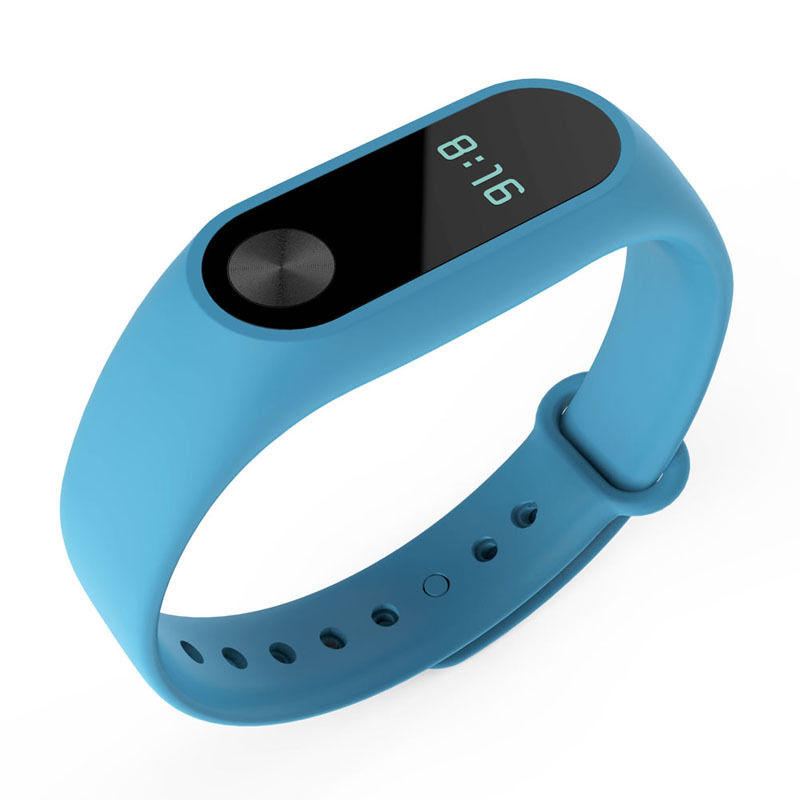 TPU náramek pro Xiaomi Mi Band 2 Barva: Světle Modrá