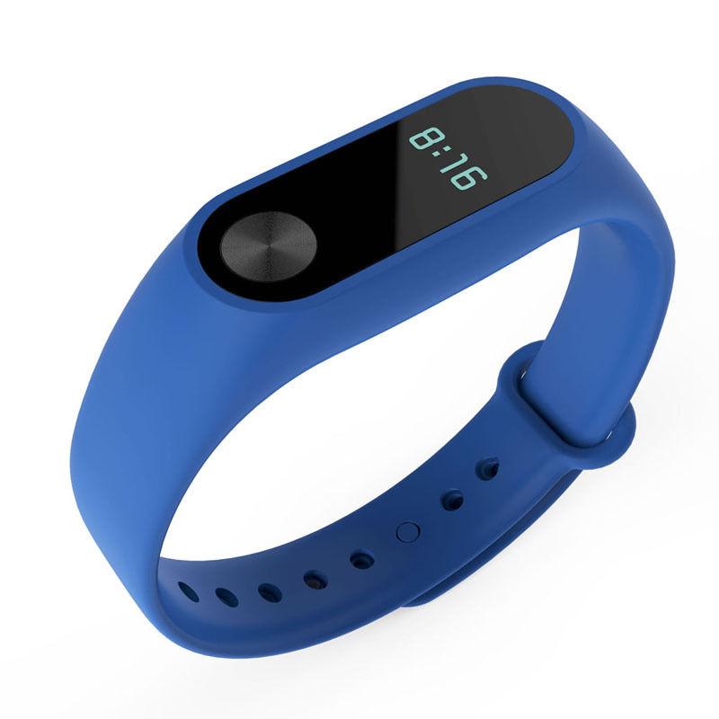 TPU náramek pro Xiaomi Mi Band 2 Barva: Tmavě modrá
