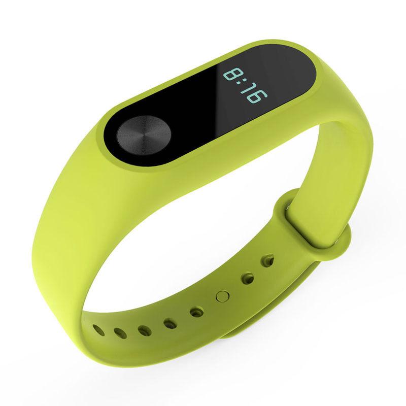 TPU náramek pro Xiaomi Mi Band 2 Barva: Zelená