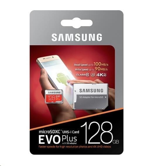SAMSUNG SDXC 128GB Class 10 MB-MC128GA/EU