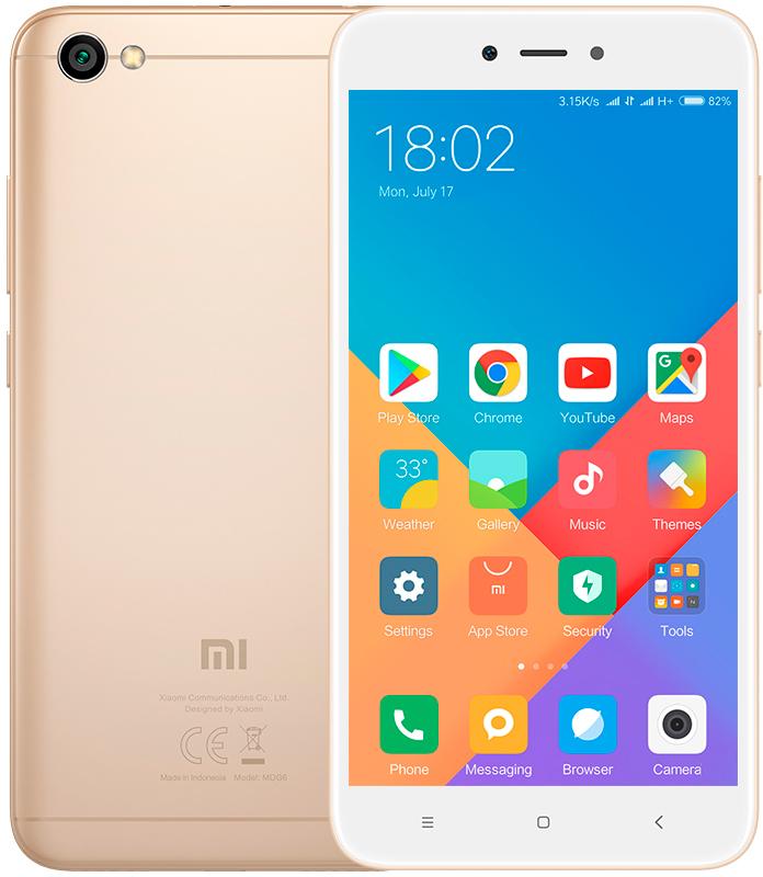 Xiaomi Redmi 4A 2GB/16GB Global - PODPORUJE CZ LTE NA 800 MHZ! S CZ MENU Barva: Zlatá