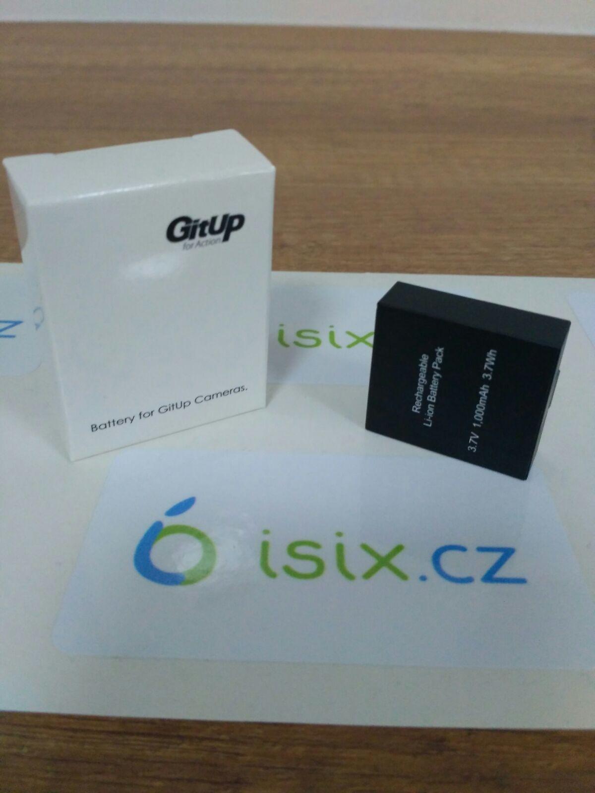 Baterie pro akční kamery GitUp™ - 1000 mAh