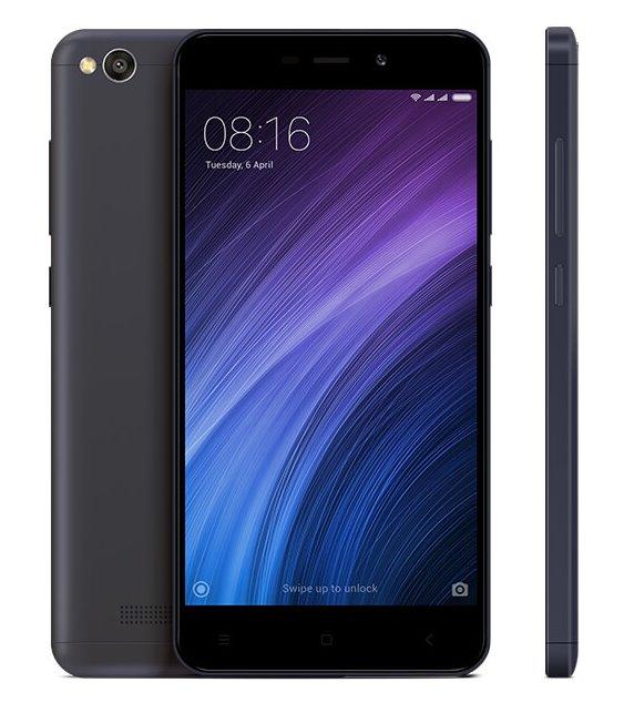 Xiaomi Redmi 4A 2GB/32GB Global PODPORUJE CZ LTE NA 800 MHZ + 900 MHZ S CZ MENU Barva: Černá