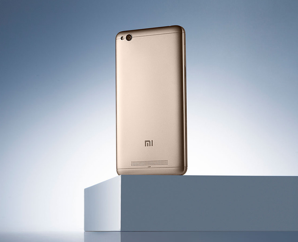Xiaomi Redmi 4A 2GB/32GB Global PODPORUJE CZ LTE NA 800 MHZ + 900 MHZ S CZ MENU Barva: Zlatá